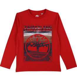 Timberland Longsleeve rood