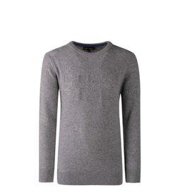 """Lion Of Porches Sweater """"LOP"""" grijs"""
