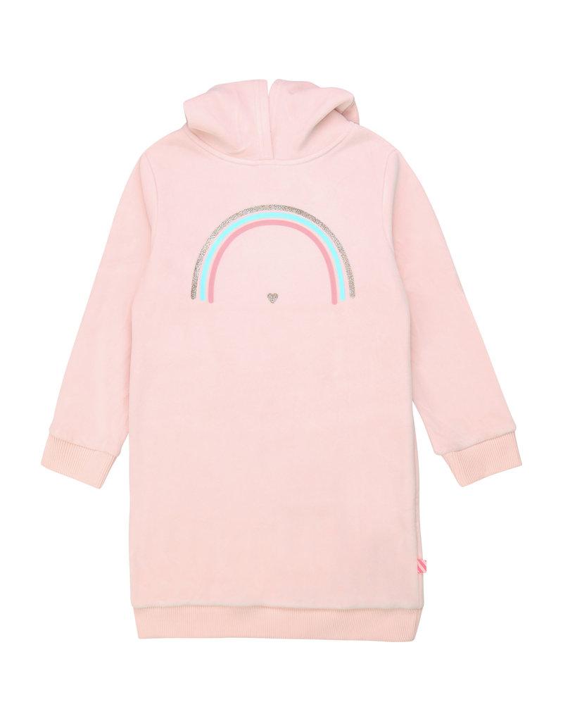 "Billieblush Jurk sweater ""Rainbow"" roze"