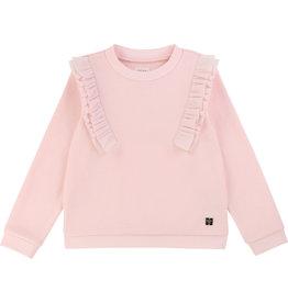 Carrément Beau Sweater frullen roze