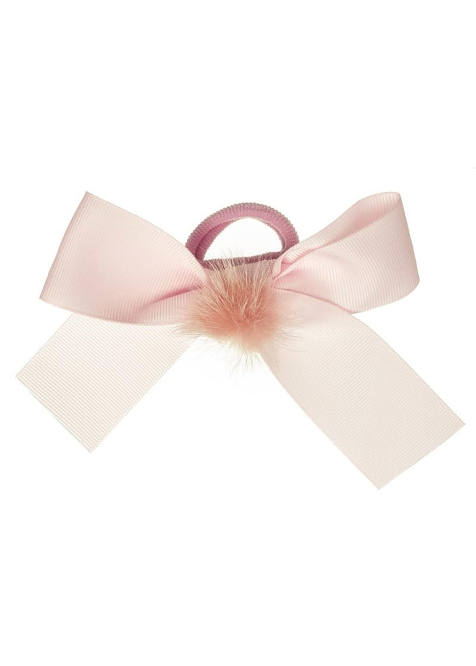 Siena SIENA Rekker lange strik pompon roze