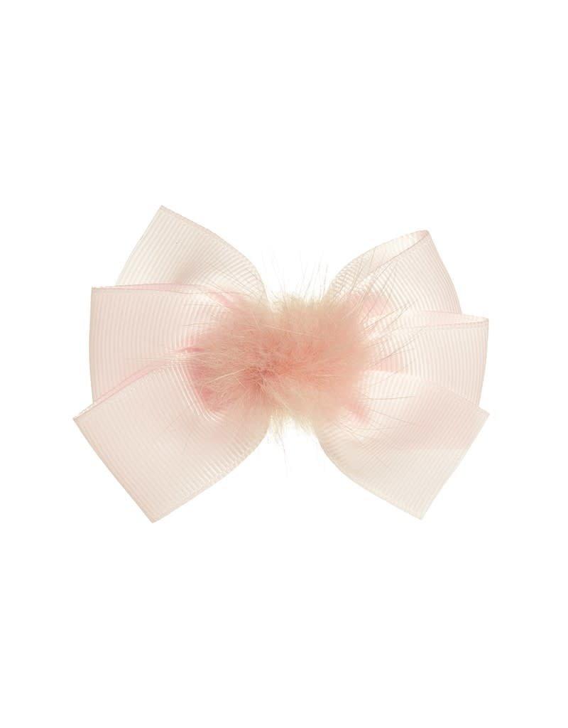 Siena Speld strik pompon roze