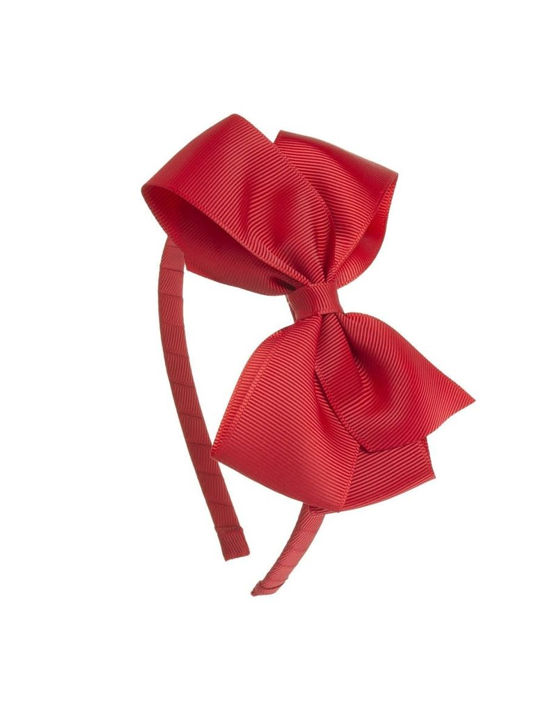 Siena Diadeem grote strik rood