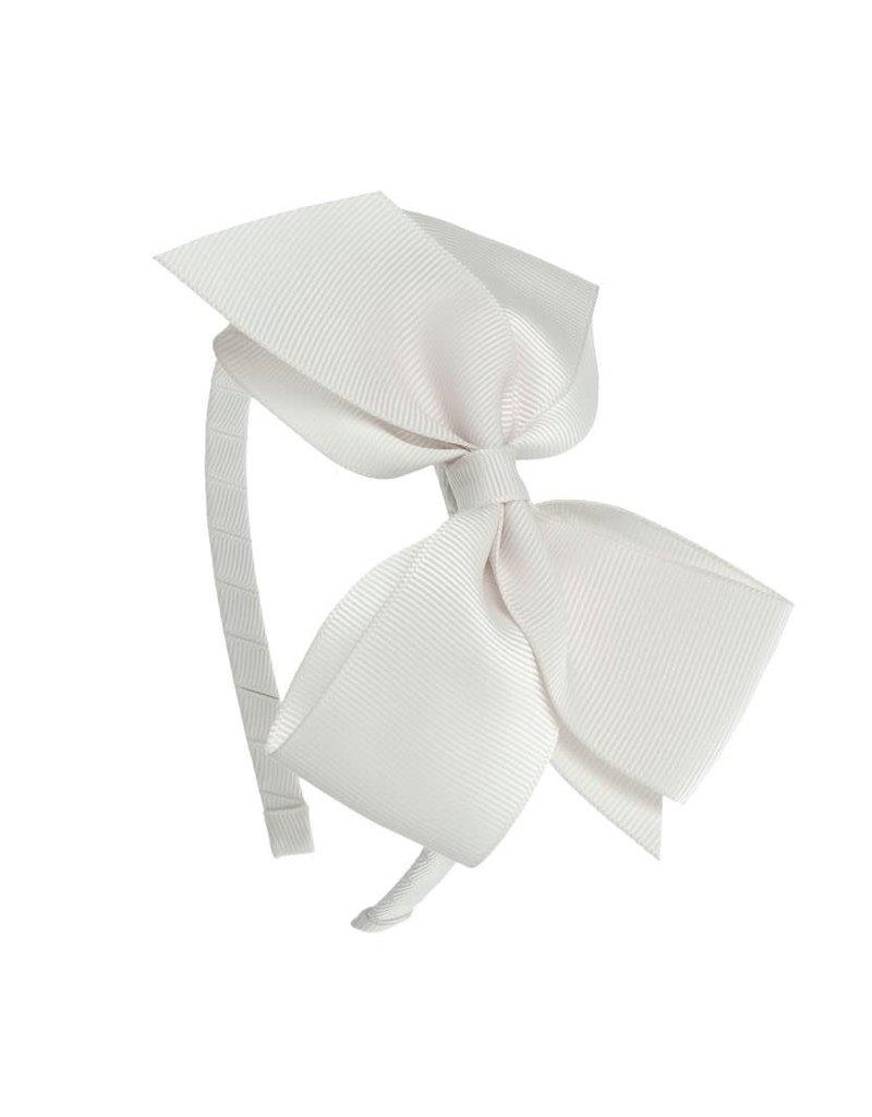 Siena Diadeem grote strik wit