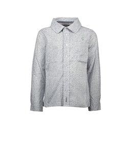 "Le Chic Garçon Hemd ""Dancing Squares"" white"