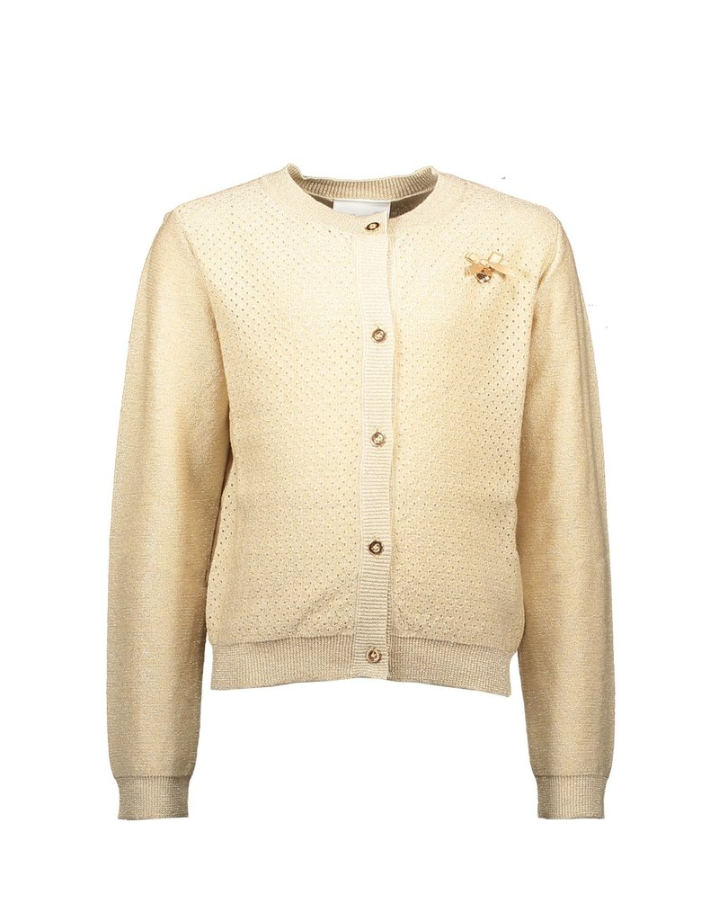 "Le Chic Cardigan ""Heart At Back"" fields of gold"