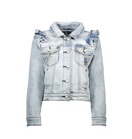 Le Chic Jeans jacket light denim