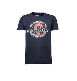 "Le Chic Garçon Tshirt ""Garçon World"" blue navy"