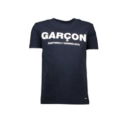 "Le Chic Garçon Tshirt ""Garçon"" blue navy"