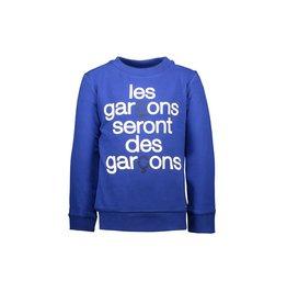 "Le Chic Garçon Sweater ""Les garçons...."" mazarine blue"