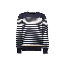 Le Chic Garçon Pullover stripes blue navy