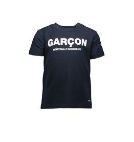 "Le Chic Garçon Tshirt ""Charming Boys"" blue navy"