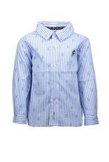"Le Chic Garçon Hemd ""Golf"" stripes light blue"