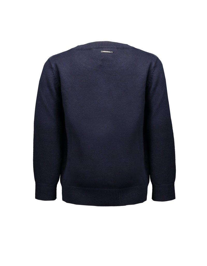 Le Chic Garçon Pullover basic blue navy