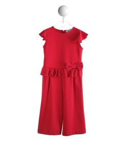 Special Day Jumpsuit/culotte strik rood