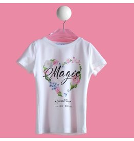 "Special Day Tshirt ""Magic"" bloemenprint"