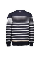 Le Chic Garçon Pullover stripes blue navy