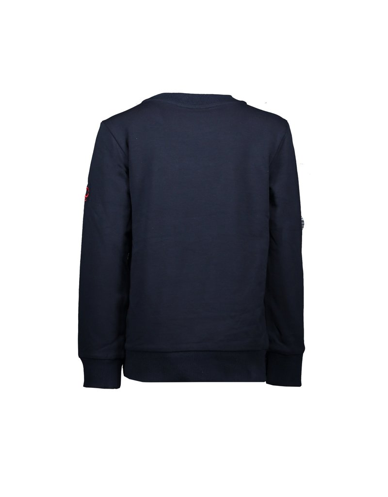 """Le Chic Garçon Sweater """"Garçon"""" blue navy"""