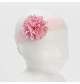 """Siena Haarband """"Flower"""" lycra roze"""