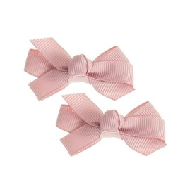 Siena Pack 2 clips ribbon oudroze