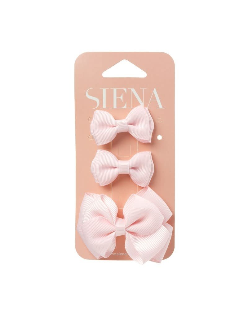 Siena Pack 3 clips roze
