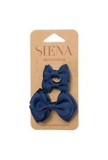 Siena Pack 3 clips marine