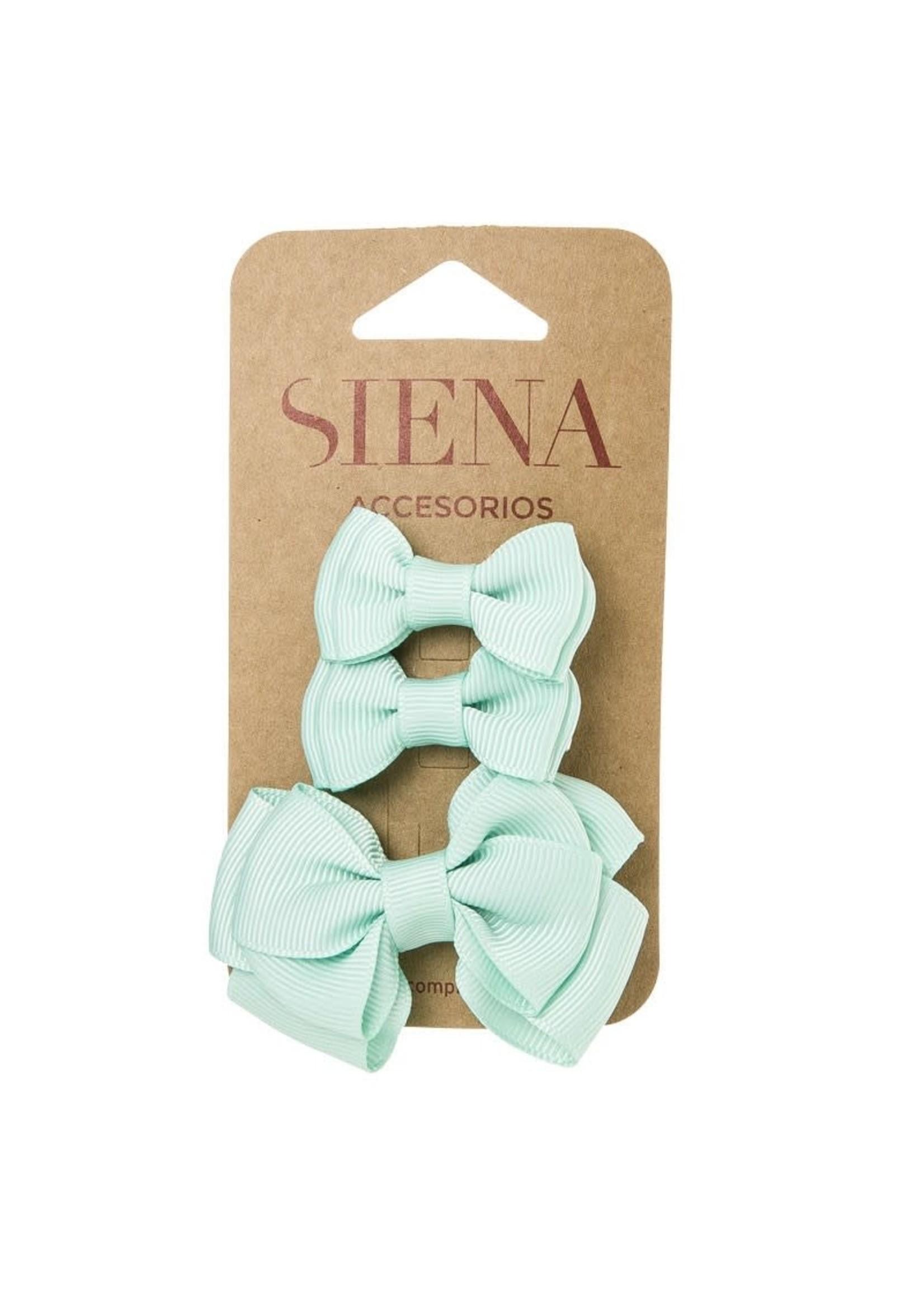 Siena SIENA Pack 3 clips groenblauw