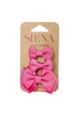 Siena Pack 3 clips fushia