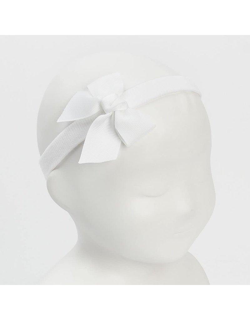 Siena Haarband strik wit