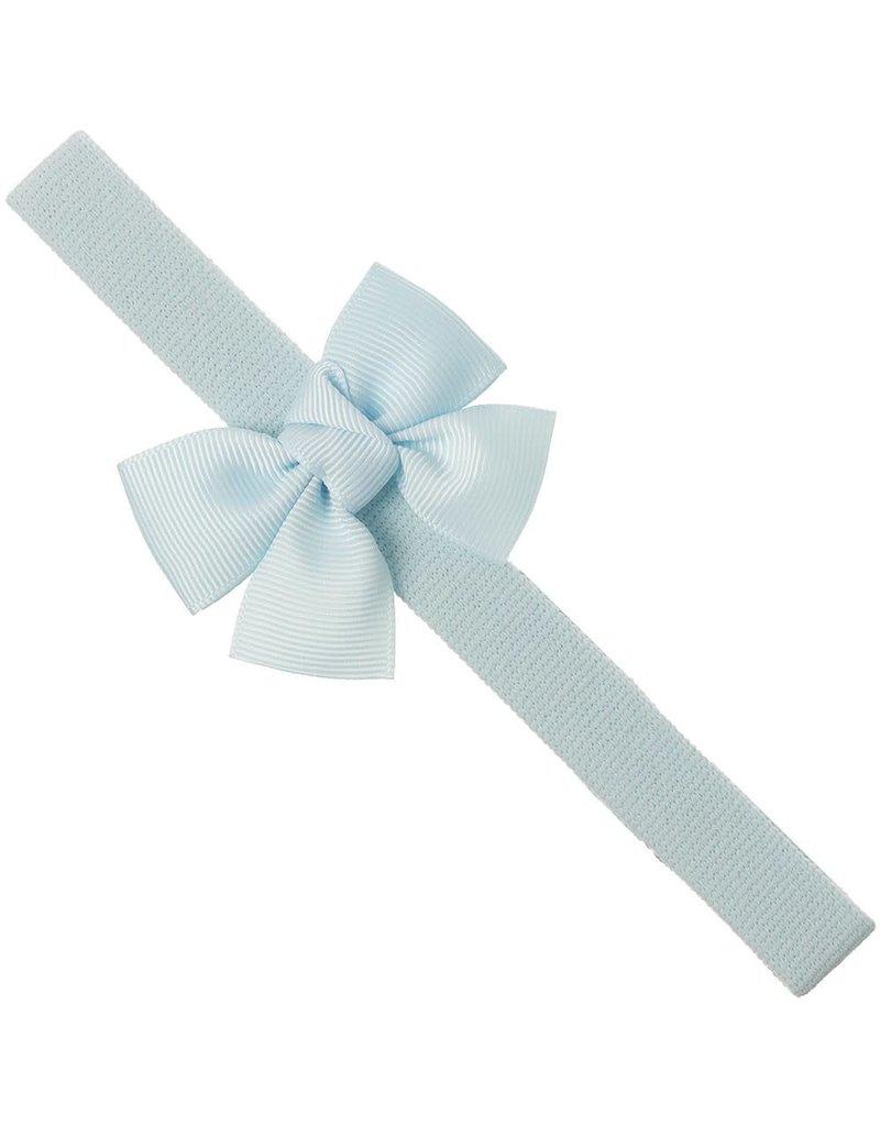Siena Haarband strik lichtblauw
