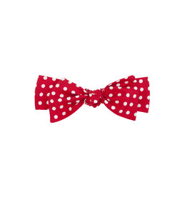 Balloon Chic Haarband rood/witte stippen