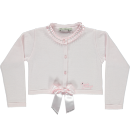 Piccola Speranza Cardigan roze strik