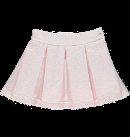 Piccola Speranza Rokje bloemenmotief plissé roze
