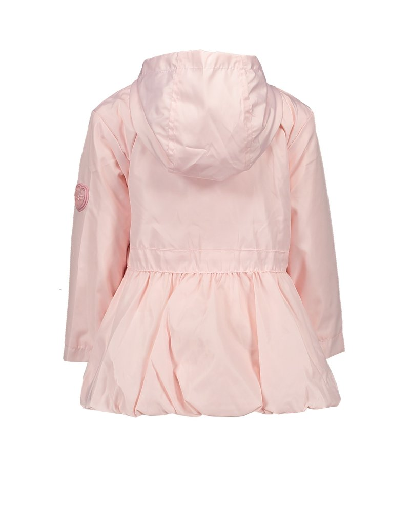 Le Chic Jas ruffle yoke plain pretty in pink