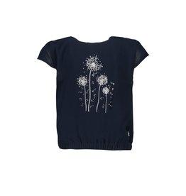 """Le Chic Tshirt """"Dandelion Print"""" blue navy"""