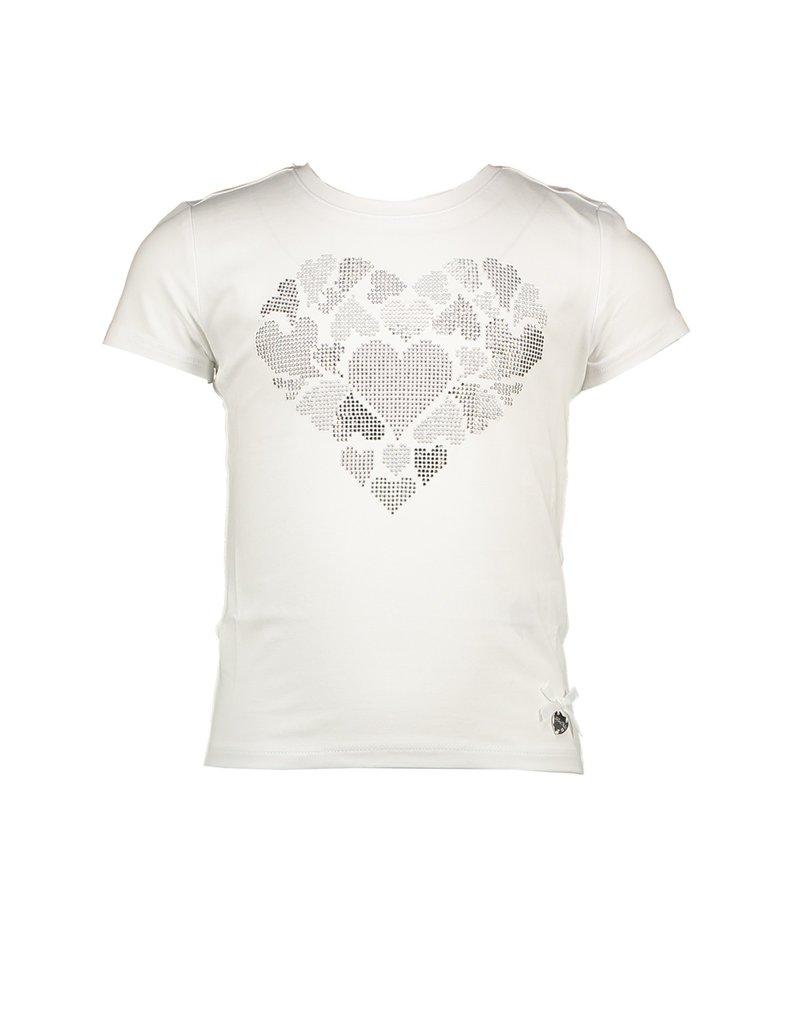 """Le Chic Tshirt """"Big Silver Heart"""""""