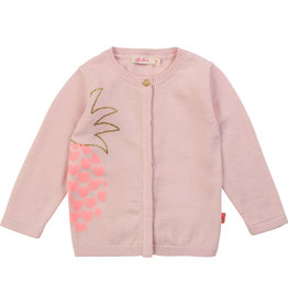 "Billieblush Gilet ""Pineapple"" roze"