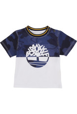 """Timberland Tshirt """"Army"""" blauw"""