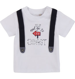 """Timberland Tshirt """"Get up & go…"""" wit"""