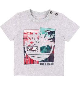 "Timberland Tshirt ""Herit"" spikkelgrijs"
