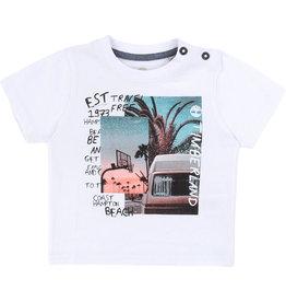 "Timberland Tshirt ""Coast Hampton Beach"" wit"