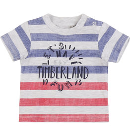 """Timberland Tshirt """"Let's Have Fun"""" streepjes"""