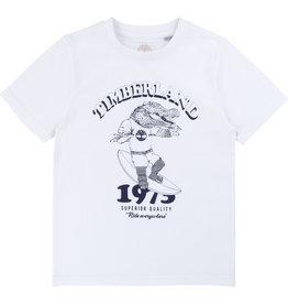"Timberland Tshirt ""Crocodile"" wit"