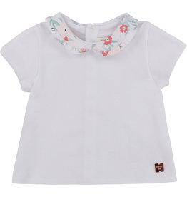 Carrément Beau Tshirt kraagje bloemenprint