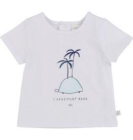 "Carrément Beau Tshirt ""Turtle+Palmtree"""
