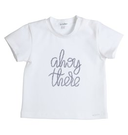"""Gymp Tshirt """"Ahoy There"""" wit"""