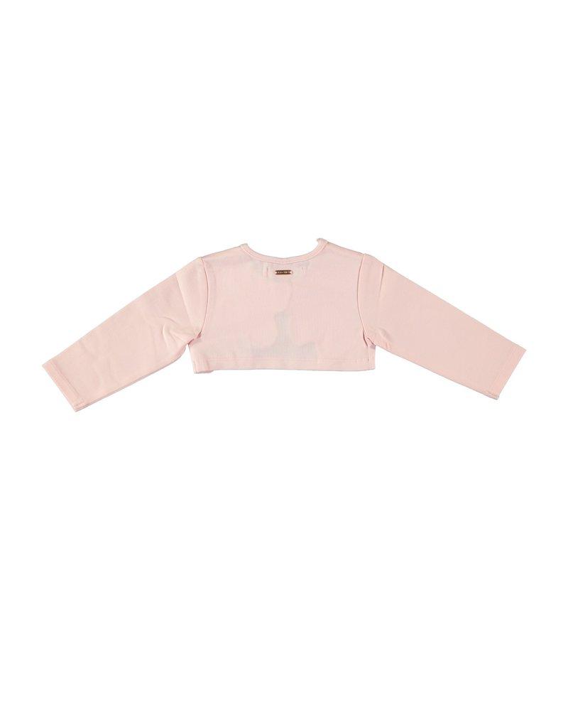 Le Chic Bolero round shaped edges pretty in pink