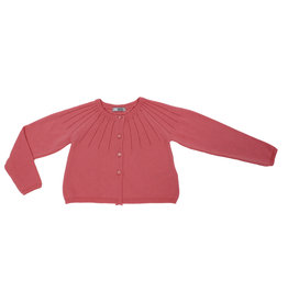 "Dr Kid Cardigan ""Jardin Secret"" felroze"
