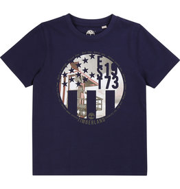 "Timberland Tshirt ""EST 1973"" marine"