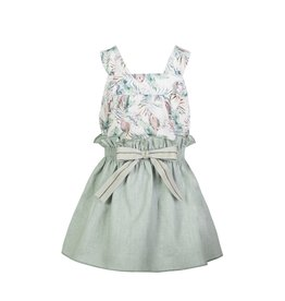 "Eve Children Top + Rokje ""Parrot"""